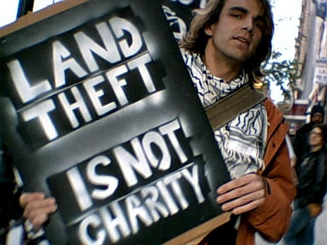 JNF protest May 2011